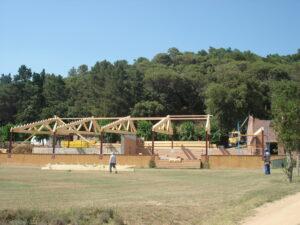 FOTO 4 ESTRUCTURA PER CASAM,ENTS.CAN RIERA DE LA PINEDA ARBUCIES